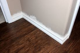 Laminate Flooring Baseboard Baseboard How To Just Like Playing House
