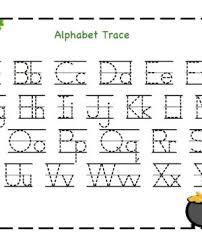 kindergarten alphabet educational worksheets for printable