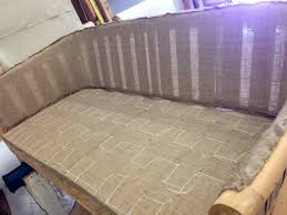 Upholstery Burlap The Chair Restoration Process Part Two Green Upholstery U2014 A