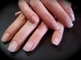 natural acrylic nail extensions i use to get these all the time