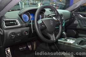 maserati granturismo interior 2016 2016 maserati ghibli interior at the iaa 2015 indian autos blog