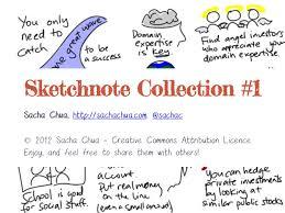 sketchnote collection 1 sacha chua
