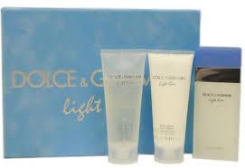 dolce gabbana light blue mujer dolce gabbana gift set light blue eau de toilette 100ml body