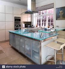 designer kitchen bar stools kitchen bar stools at breakfast bar in modern kitchen uk home