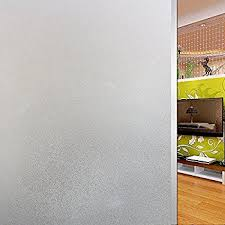 Frosted Glass For Bathroom Amazon Com Bloss Pvc Waterproof 17 7 U0027 U0027 X 78 7 U0027 U0027 Privacy Frosted
