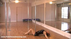 Floor Up by Learn How To Do The Pin Up Online Pole Dancing Lessons For