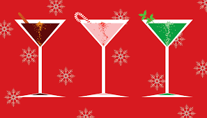 holiday cocktail party clipart 45