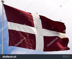 Johns Flag Flag Sovereign Military Order St John Stock Photo 54489688