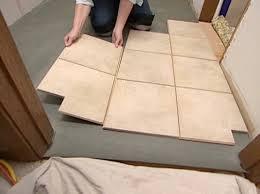 advantage disadvanatge of floating tile floor flooring ideas