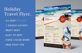 design flyer layout 10 gorgeous travel agency flyer templates to grow your travel business