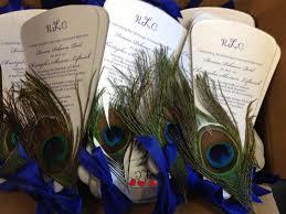peacock wedding programs wedding program as fan peacock pesquisa do wedding