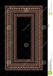 file cover design handmade frame with ethnic handmade ornament for your stock vector