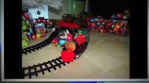 photo u0027s of the north pole express train set around the christmas