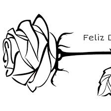 imagenes para colorear rosas una rosa para pintar y regalar el día del libro edúkame