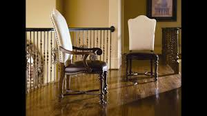 chair custom wood arm chair dining room bassett furniture seat