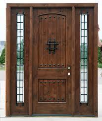 Exterior Wooden Door Most Popular Rustic Exterior Doors Knotty Alder Clearance Priced