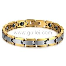 bracelet gift images Gold plated tungsten mens bracelet gift for him personalized jpg