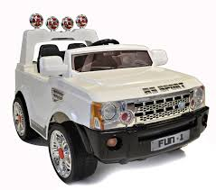 kids electric jeep review of 12v white range rover sports style ride on jeep a very