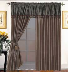 pretty curtains bay window on bay window curtain rods for the home