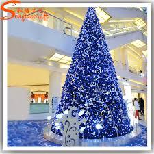 wholesale plastic pvc tree ornament with