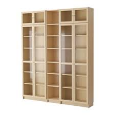 Ikea Bookcases With Glass Doors Bookshelves Bookcases Ikea