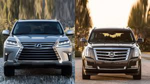 lexus vs infiniti brand 2016 lexus lx 570 vs 2016 cadillac escalade youtube