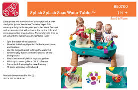 step2 spill splash seaway water table splish splash water table with umbrella step2 splish splash seaway