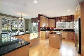 cupboards with light floors 52 enticing kitchens with light and honey wood floors