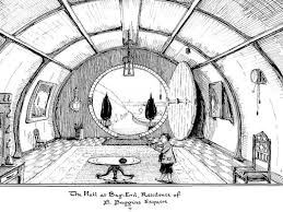 old world kitchen designs hobbit house drawing tolkien drawings