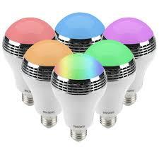 Led Light Bulb Speaker Led Light Bulb With Speaker Moar Stuff You Don U0027t Need It But