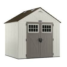craftsman 65007 8 u0027 x 7 u0027 resin storage building