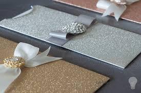 Diy Wedding Invitation Dl Glitter Wallet Silver Dl Wallet For Diy Wedding Invitations