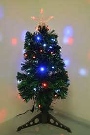small fiber optic christmas tree u2013 easy lighted xmas decor