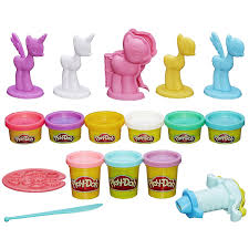 amazon com play doh my little pony make u0027n style ponies toys u0026 games