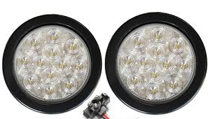 pair of 2 led 4 back up light kits