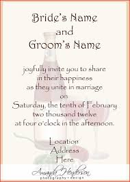 wedding card from groom to inspirational wedding invitation sle wording and groom