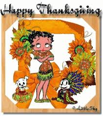 12 best betty boop thanksgiving images on bb betty