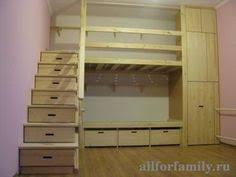 Bunk Bed With Storage Stairs Bunk Bed With Stairs Plans Kids Pinterest Stair Plan