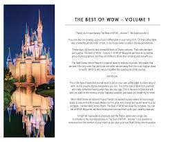 the best of wdw volume 1 coffee table book the best of wdw