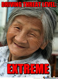 Grumpy Old Lady Meme - old asian and a woman that s deadly by gregorsamsa meme center