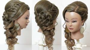 indian bridal hairstyle for long hair tutorial with braids and