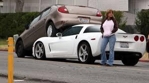 corvette crash talking on the cell phone corvette gallery
