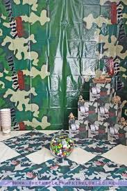 themed decorating ideas army themed party decoration ideas