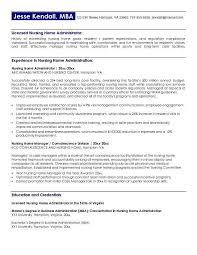 Nursing Sample Resume by Sample Resume For Nursing Home Worker Augustais