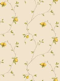 galerie aquarius lemons kitchen wallpaper yellow times 32 95