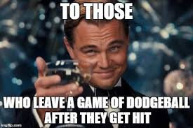 Dodgeball Movie Memes - leonardo dicaprio cheers meme imgflip