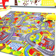 Kids City Rug by Region Map For Kids City Town Road Childrens Car Rug Ebay S L