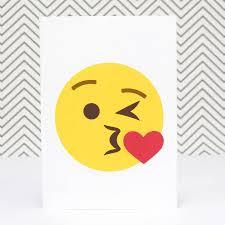 champagne emoticon personalised kiss emoji card by of life u0026 lemons