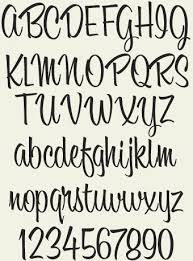 52 best casual script images on pinterest hand lettering brush