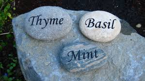 personalized garden stones engraving engraved personalized garden stones